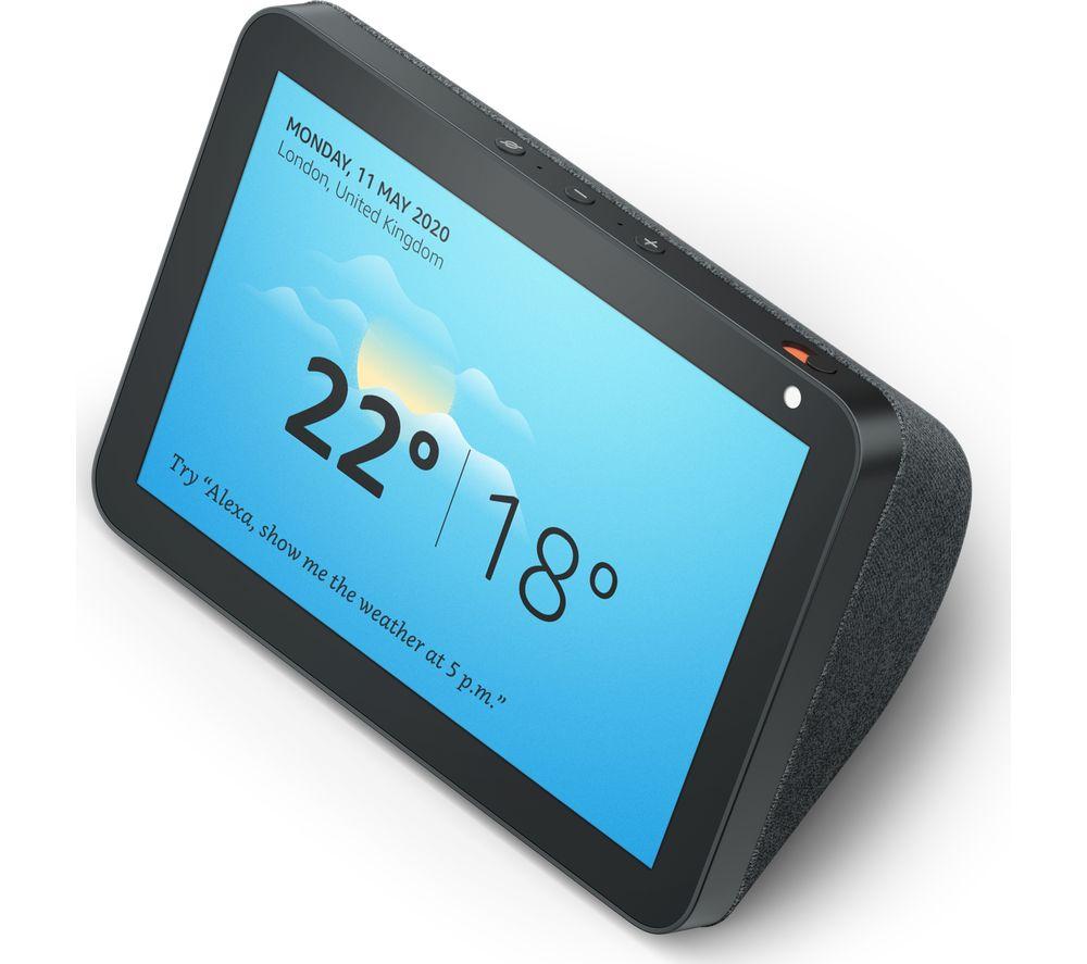 Amazon Echo Show 8 Smart Speaker - Charcoal / Sandstone £59.99 Free delivery @ Amazon
