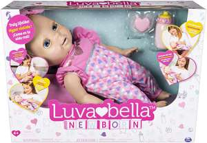 Luvabella 6047317 Newborn, Blonde Hair, Interactive Baby Doll with Real Expressions and Movement, Multicolour by Luvabella £24.99 Amazon
