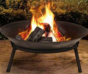 Traditional Cast Iron Fire Bowl £17.97 delivered @ Groupon