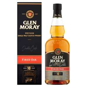 10 Year Old Glen Moray Speyside Single Malt Scotch Whisky Fired Oak online and instore - £25 @ Morrisons
