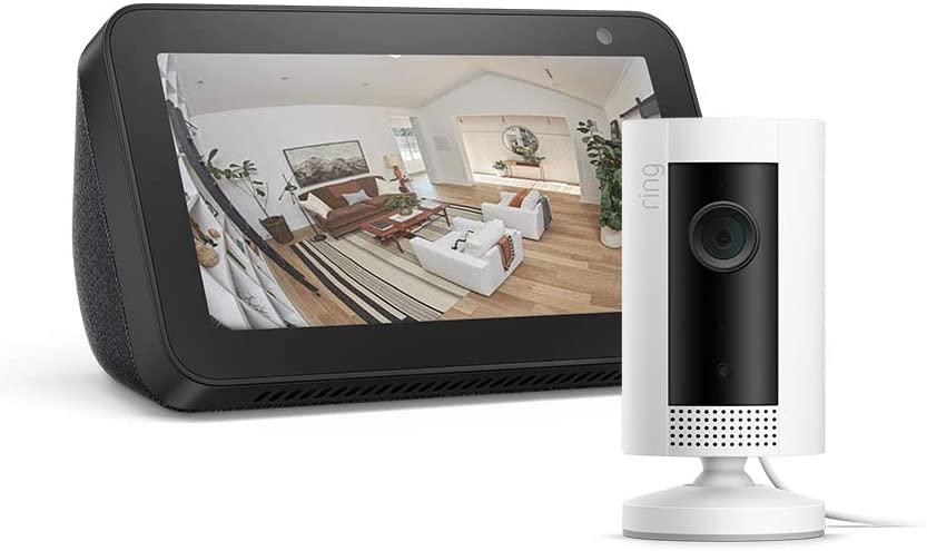 Echo Show 5 (Black / White) + Ring Indoor Cam Bundle - £69.99 Delivered @ Amazon