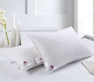 2 x Luxury Duck Feather & Down Pillows now £9.99 delivered at unlimitedseller eBay