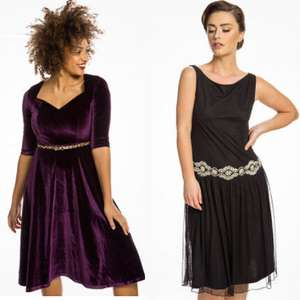 Lindy-Bop £10 Dress Sale + Extra 10% Off with code (+£3.99 delivery per order)