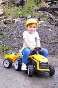 JCB Electric Ride On Tractor £34.99 Free Delivery with Code From Studio