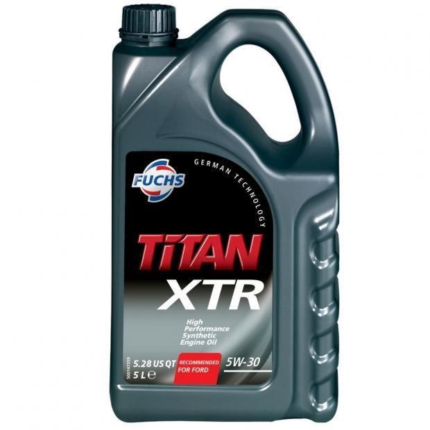 Fuchs Titan XTR 5w-30 Engine Oil 5 Litres £17.24 at Power Bulbs