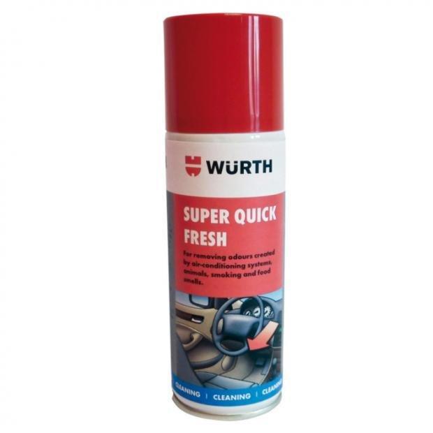 Wurth Super Quick Fresh Citrus Air Freshener 150ml £7.49 at Power Bulbs