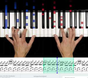 6-Month Subscription for Online Piano Lessons £1 @ music2me via Thomann