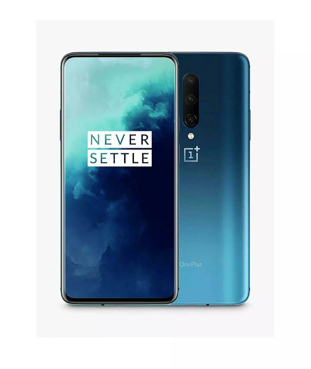 "Grade B OnePlus 7T Pro Smartphone, 6.67"", SIM Free, 8GB RAM, 256GB Haze blue (ML4096) £499.99 @ Stock Must Go Ebay"
