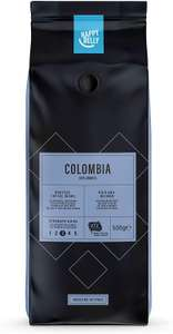 "Amazon Brand - Happy Belly Coffee Beans ""COLOMBIA"" (2 x 500g) £8.77 at Amazon Prime / £13.26 Non Prime"