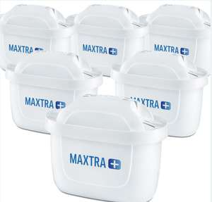 Brita Maxtra+ Pack of 6 Filter Cartridges, £20 at Tesco (Min basket £40 + up to £4 delivery)