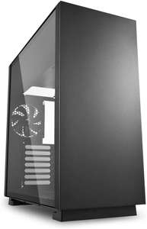 Sharkoon Pure Steel Black Mid Tower Case (M-ITX/M-ATX/ATX/E-ATX/CEB/EEB) £39.91 @ Amazon