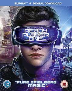 Ready Player One Blu-Ray £6.39 with Prime / £9.38 Non Prime @ Amazon