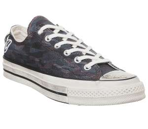 Converse All Star Ox 70s - Black Camo - £28.50 incl delivery at Offspring
