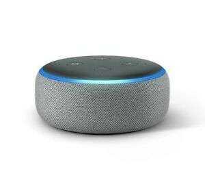Amazon Echo Dot 3rd Gen - Heather Grey - £21.99 Delivered (with code) @ Currys / eBay