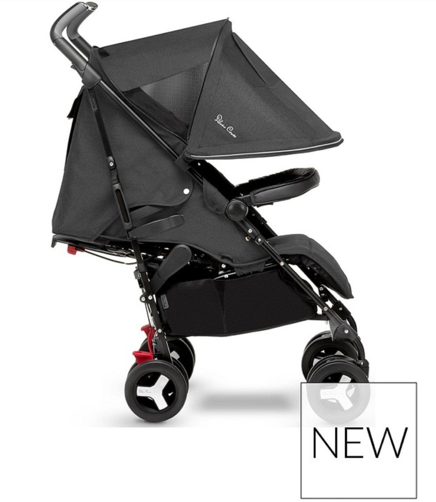 Silver Cross Reflex Onyx Stroller £189.99 + £3.99 p&p @ Very