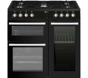An extra £50 off a £500 spend on selected cookers @ Currys e.g - FLAVEL 90cm Dual Fuel Range Cooker £499 delivered