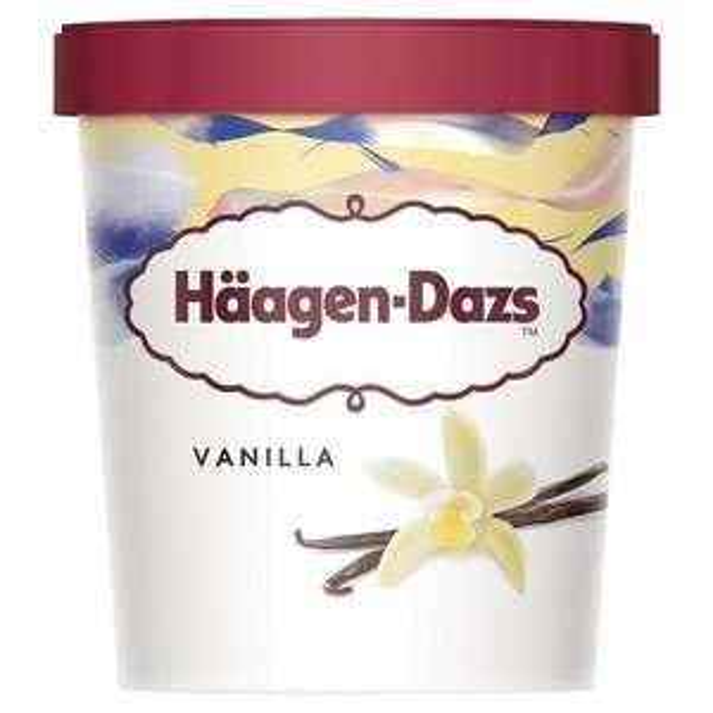Haagen Dazs Ice Cream 460ml various flavours at Sainsburys for £2.50
