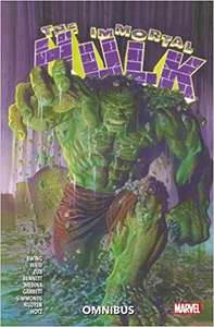 Immortal Hulk Omnibus graphic novel - Paperback 388 pages of comic book action £14.99 delivered @ Amazon
