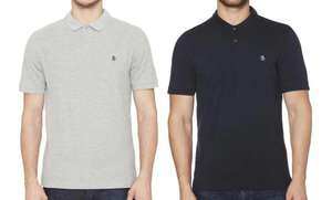 Pack of Two Penguin Men's Cotton Polo Shirts (Small) £8.64 delivered @ Groupon