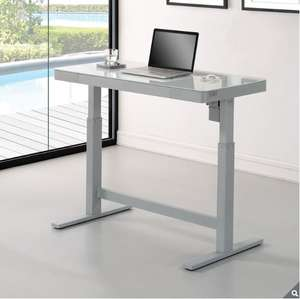 Tresanti sit/stand desk at costco in white or black £294.99