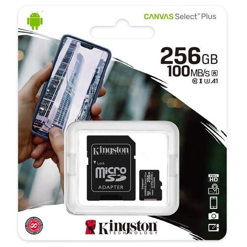 Kingston Canvas Select Plus Micro SDXC 256GB - U3, V30, A1 £27.95 @ Mymemory