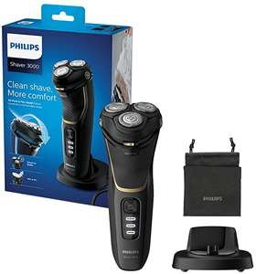 Philips New Series 3000 Wet or Dry Men's Electric Shaver with a 5D Pivot & Flex Heads, Noir Gold - S3333/54 £69.99 delivered at Amazon