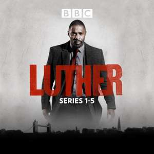 Luther Complete Series (Seasons 1-5) HD £16.99 on iTunes UK