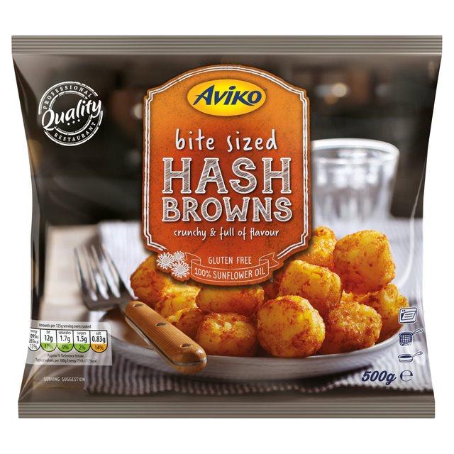 Aviko Hash Brown Bites 500g 75p in Herons @ Hessle