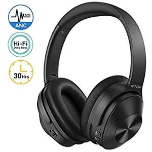 Mpow Noise Cancelling Headphones, Bluetooth 5.0 Wireless Headphones Over Ear, 30Hrs Playtime £29.99 Sold by Mpow Store & FB Amazon.