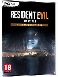 Resident Evil 7 Gold Edition (Includes Banned Footage Vol 1 & 2) - Steam Key [MMoga] - £9.38
