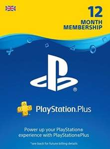PS Plus 12 Month Membership UK £39.50 at Electronic First