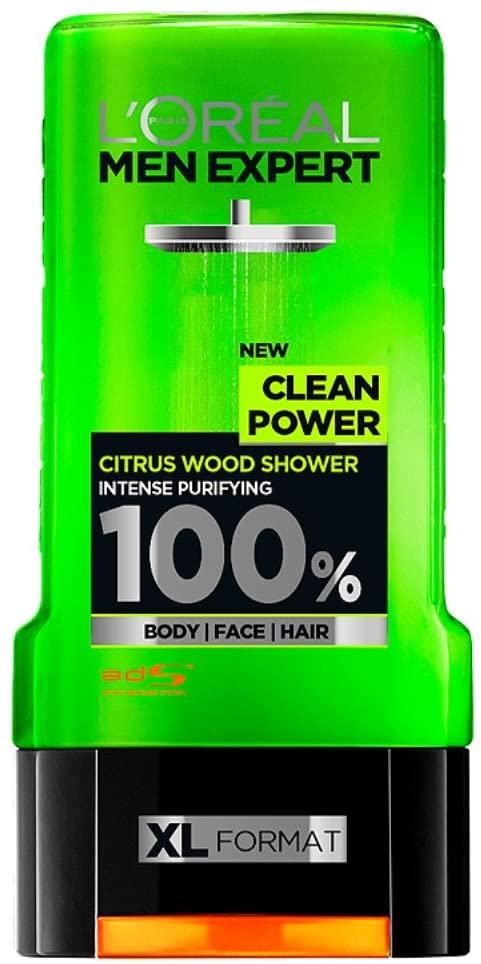 L'Oréal Men Expert Shower Gel Clean Power, 300ml £1.80 at Amazon Prime / £6.29 Non Prime