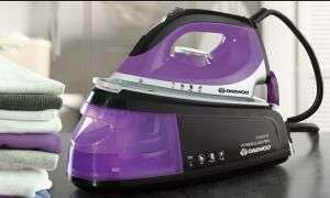 Daewoo 2400W Steam Station Iron £32.39 (with code) + £1.99 Delivery @ Groupon
