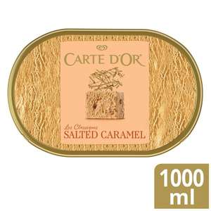 Carte D'or Ice Cream 1L (Salted Caramel / Chocolate / Vanilla / Strawberry) £1.75 @ Morrisons