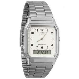 Casio Mens Classic Combi Watch with Numeric Digits - Silver £14.98 Delivered @ MyMemory