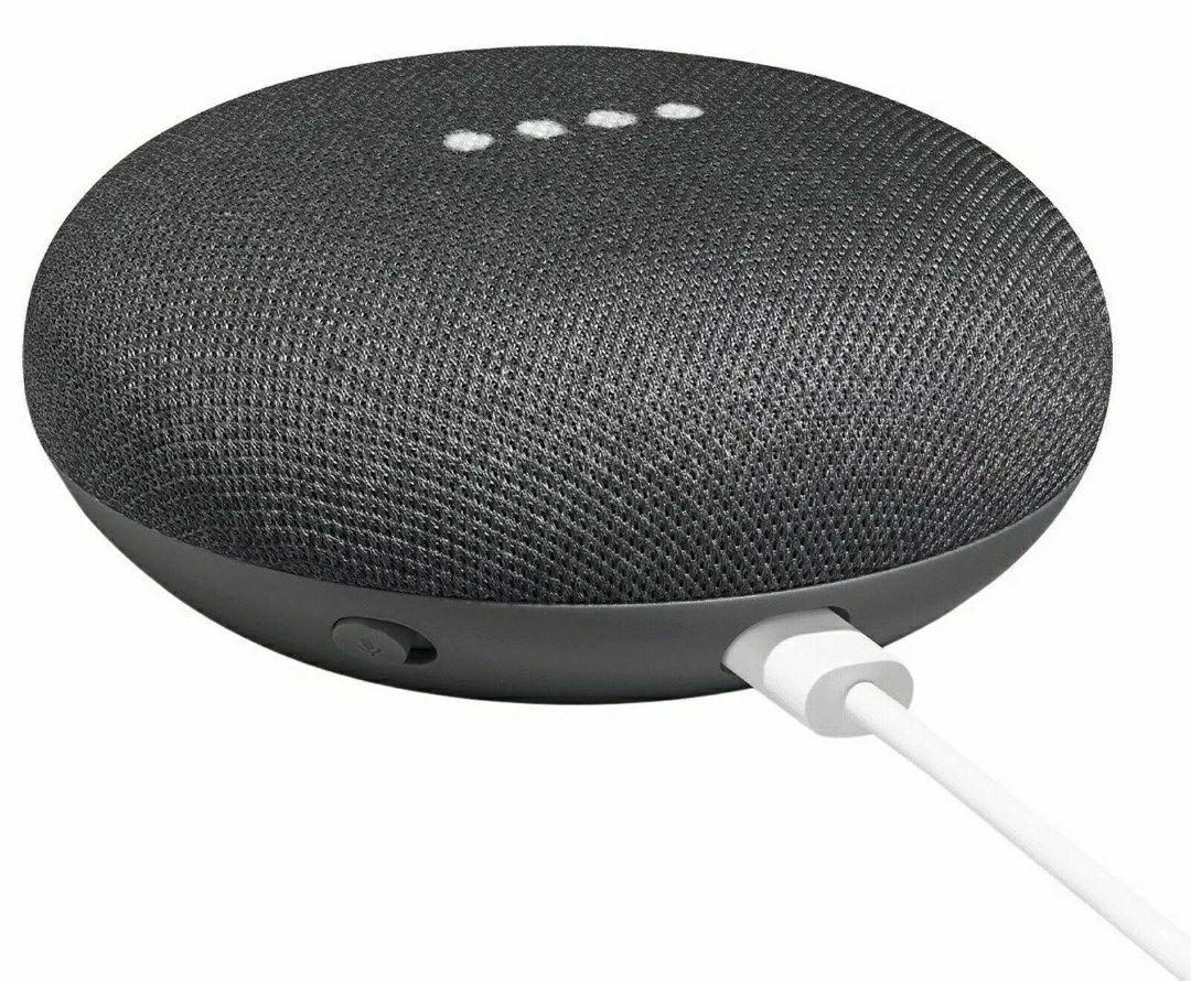 Google Home Mini Smart Speaker 1st Gen Charcoal OFFICIAL Google Voice Smart Assistant UK £19.99 @ MyMemory Ebay Store
