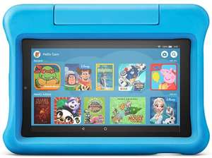 "Fire 7 Kids Edition Tablet | 7"" Display, 16 GB, Blue/Pink/Purple Kid-Proof Case - £64.99 at Amazon"