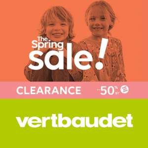 50% off Kids / Babies / Toddler / Maternity clothes with Free Delivery @ Vertbaudet