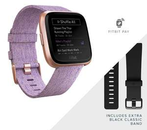Fitbit Versa SE £120 with code / Lite £84 / Charge SE £81 / Fitbit Inspire HR £51 @ DW Sports