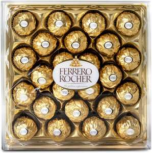 Ferrero Rocher (pack of 24 pieces 300g) £6 + £4.49 NP at Amazon