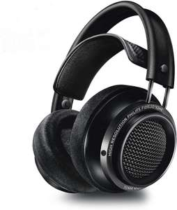 Philips Fidelio X2HR High Resolution Headphones with Velvet Cushions - Black £89.99 @ Amazon