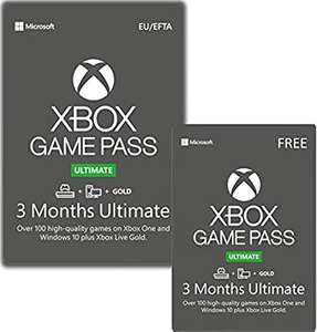 3 Month Xbox Game Pass Ultimate + 3 Months Free £32.99 Digital Delivery @ GAME