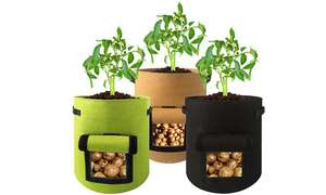 Vegetable Planting Bag with Side Window £5.50/ £7.49 Delivered From Groupon