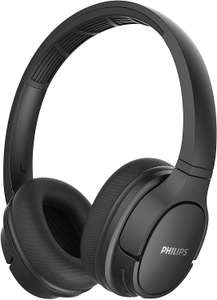Philips SH402BK/00 Wireless On Ear Sports Headphones (Bluetooth, IPX4, 40 mm driver, 20 hours play time) £29.99 @ Amazon