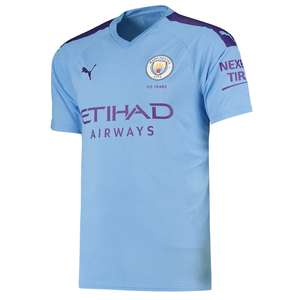 Manchester City Home Shirt 2019-20 - £25 + £3.95 Delivery @ Kitbag