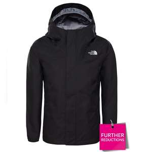 THE NORTH FACE Girls Resolve Reflective Jacket - Black £21 + £3.99 at Very
