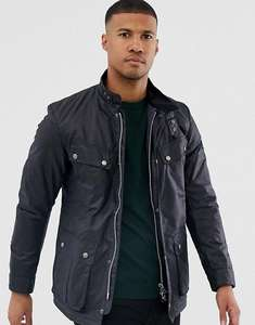 Barbour International Duke Wax Jacket - Navy £98 + £3.99 delivery @ Very
