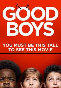 Good Boys - £1.90 to rent / £4.90 to buy @ Chili (Today only)