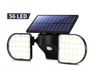 OUSFOT Outdoor Lights Solar Powered 56 LED Solar Light £13.19 @ Sold by ousfot and Fulfilled by Amazon (+£4.49 non-prime)