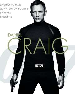 The Daniel Craig Collection in 4K HDR Dolby Vision for £14.99 on iTunes